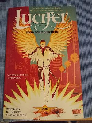Lucifer Vertico Comic