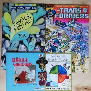 Comic Paket - 5 Jahre Nerd mit Nadel Verlosung