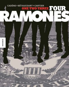 One, two, three, four, Ramones; Éric Cartier/Knesebeck Verlag