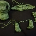 Baby Yoda Körperteile
